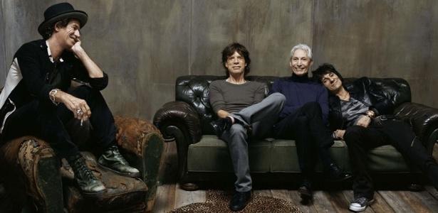 Foto dos Rolling Stones que estará na exposição