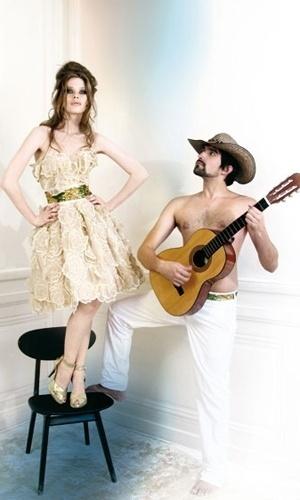Linha Rock n' Love para noivas da grife Max Chaoul