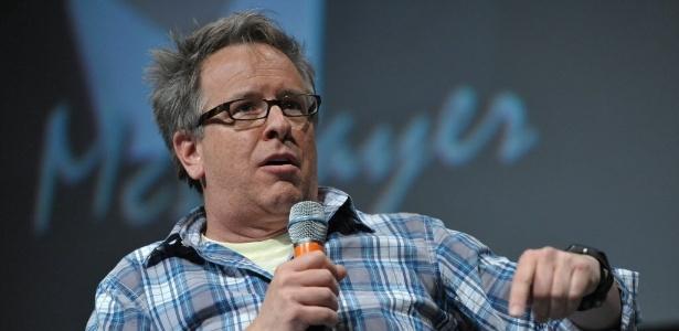 """O diretor Rich Moore fala durante o painel de """"Detona Ralph"""" (12/7/12)"""