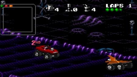 """Donos de PC podem relembrar - de graça! - as emoções de """"Rock'n Roll Racing"""""""