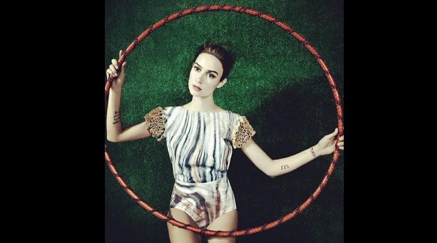 """Thaila Ayala divulgou imagem de ensaio fotográfico feito para a revista """"Estilo"""" (12/7/12)"""