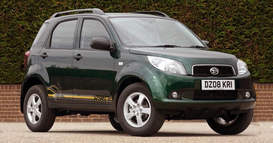 Terios é o jipinho da Daihatsu produzido e vendido com logo da Toyota na Venezuela