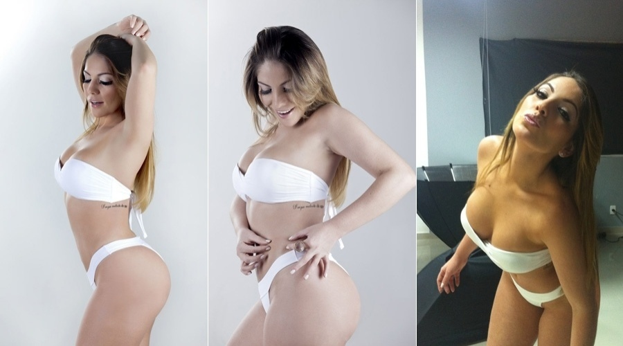 A ex-BBB Anamara fez ensaio fotogr&#225;fico para uma cl&#237;nica de est&#233;tica da qual &#233; garota propaganda (13/7/12). A modelo posou vestindo biqu&#237;ni branco. Nesta sexta, ela completa 28 anos. Anamara participou da 10&#170; edi&#231;&#227;o do &#34;Big Brother Brasil&#34; e era chamada de Maroca