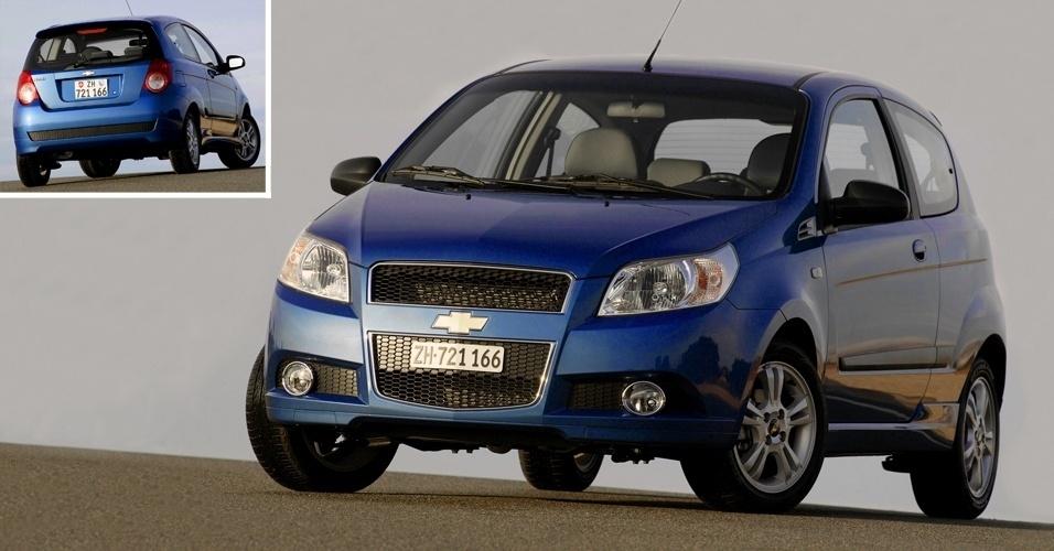 Chevrolet Aveo de geração anterior é o modelo intermediário da marca na Venezuela