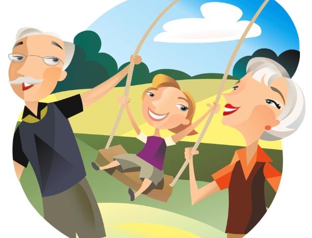 Deixar a criança passar férias com avós ou outros parentes é enriquecedor e aumenta laços familiares