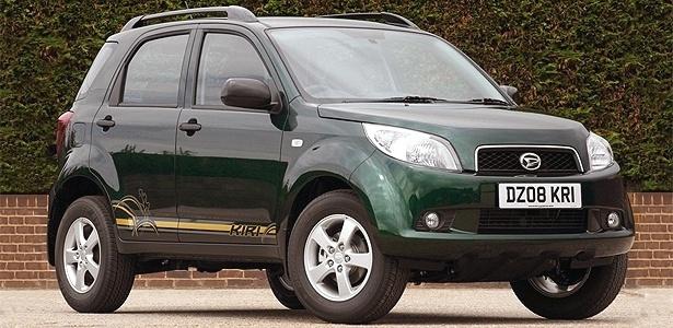 """Daihatsu Terios, que na Venezuela é fabricado e vendido pela Toyota: por ora o jipinho """"não está no radar"""" do Brasil, que, por sua vez, deve exportar mais Corollas ao país de Chávez"""
