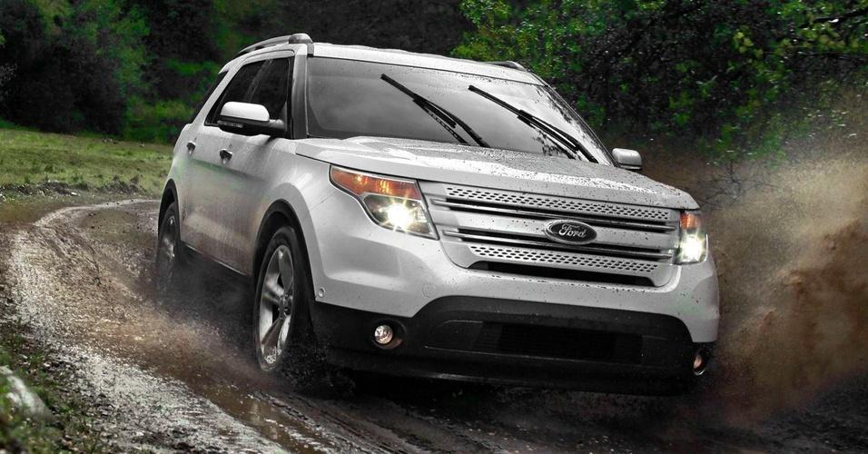 Ford Explorer é um dos modelos produzidos pela Ford na Venezuela