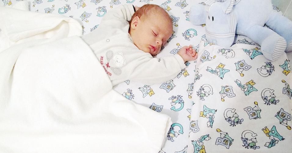 Foto Florido bebê - dormindo