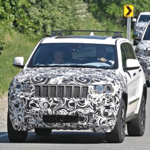 Jeep Grand Cherokee prepara facelift