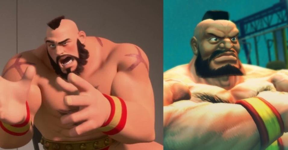 """Lutador russo de """"Street Fighter"""", Zangief é tratado no filme como vilão"""