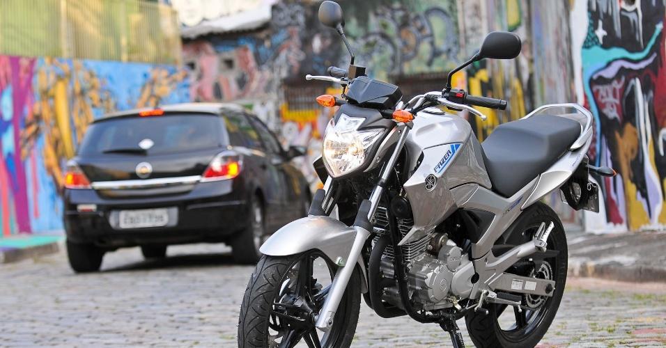 Urbana e econômica, a nova Fazer 250 continuará agradando sua legião de fãs, que agora podem abastecer a moto com etanol