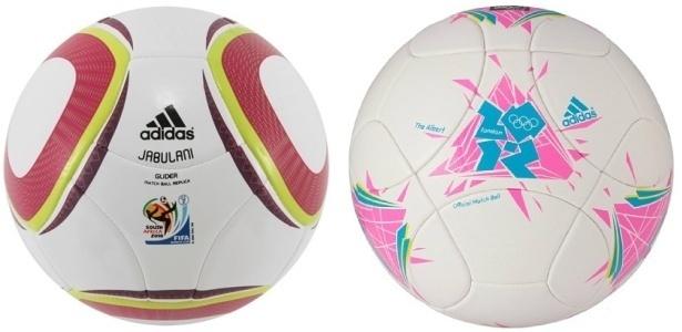 Jabulani foi a bola da última Copa do Mundo; Em Londres, a Adidas utilizará a The Albert
