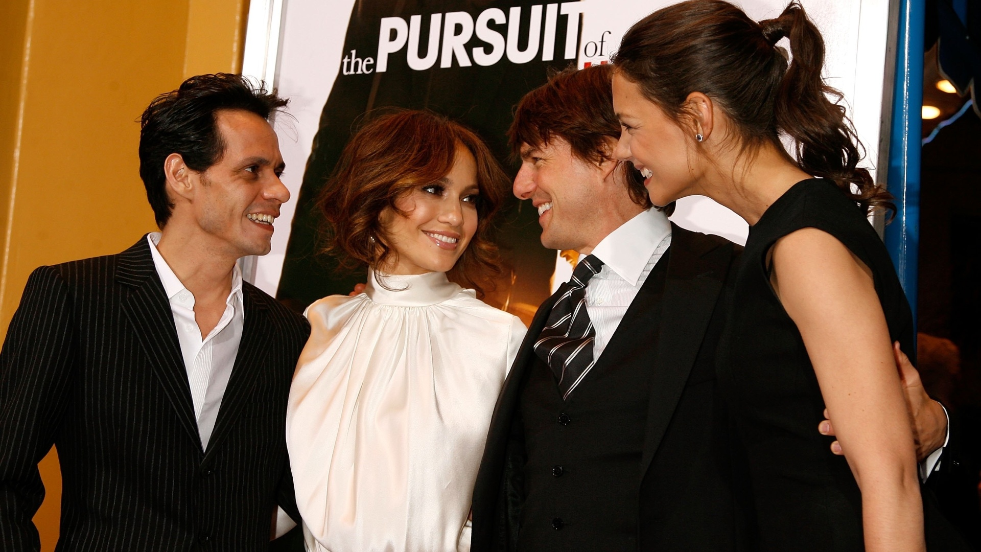 Marc Anthony, Jennifer Lopez ( esq), Tom Cruise e Katie Holmes (7/12/06)