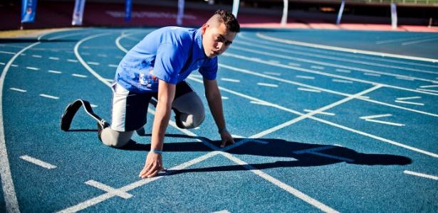 Alan Fonteles é esperança do Brasil em quatro provas dos Jogos Paraolímpicos de Londres 2012
