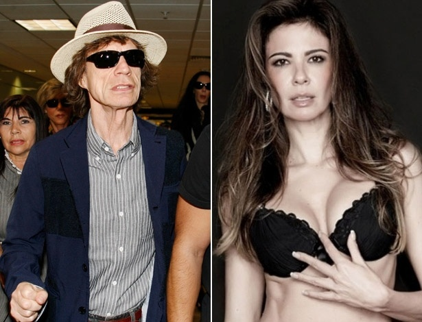 Luciana Gimenez teve um filho com Mick Jagger em 1999 