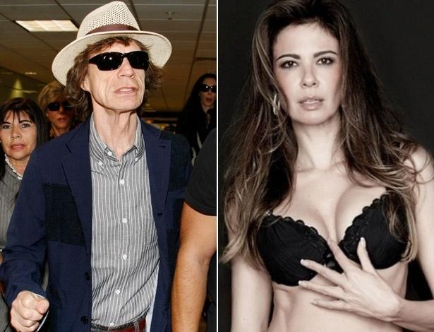Luciana Gimenez teve um filho com Mick Jagger em 1999