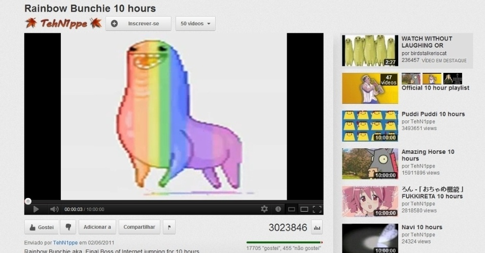 Vídeos longos Youtube