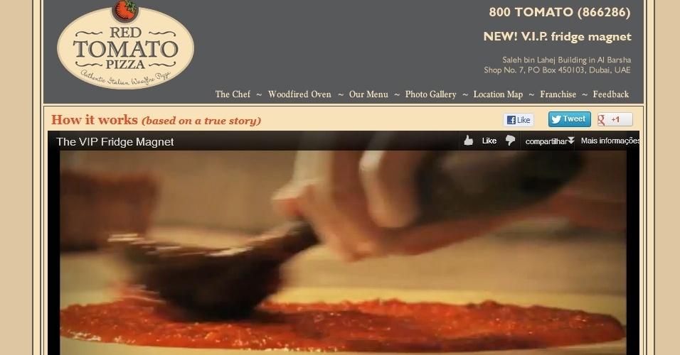 Pizza Red Tomato