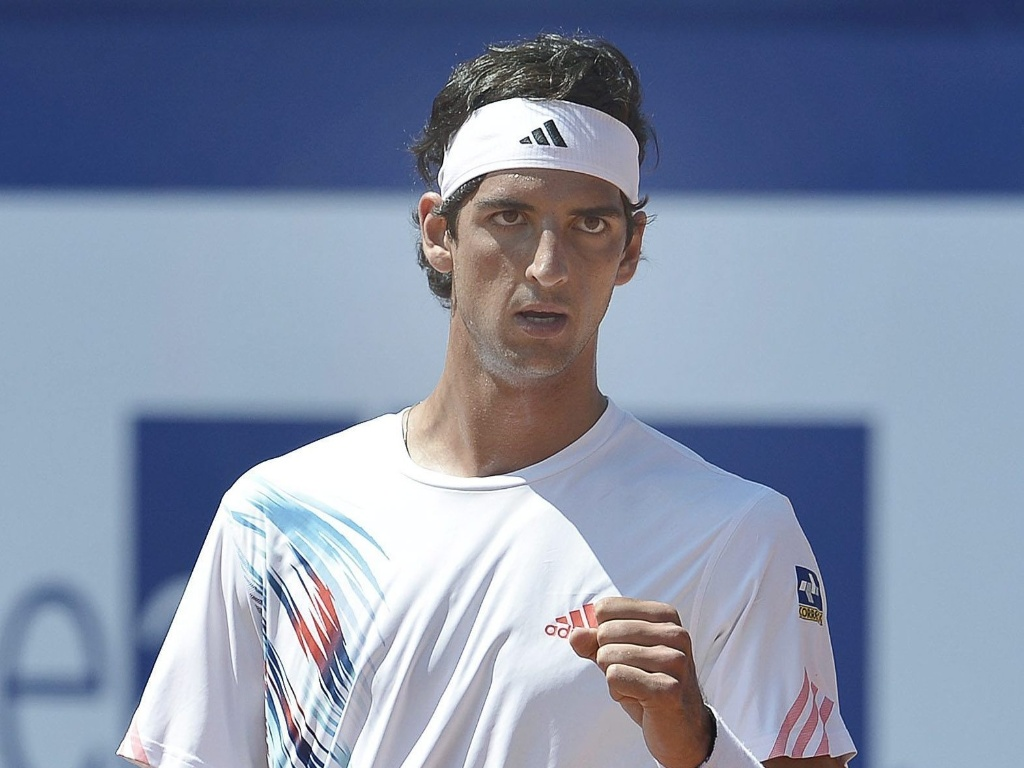 Thomaz Bellucci no teve dificuldades para superar Blaz Kavcic e conquistar sua 100 vitria no circuito da ATP