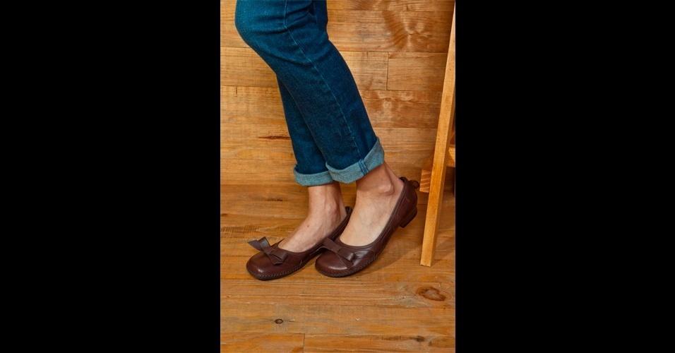 As sapatilhas são confortáveis e nunca saem de moda. Sapatilha; de R$ 249 por R$ 129, na Sidewalk (Tel.: 11 5182-3836). A liquidação da marca vai até o dia 8 de agosto e os descontos chegam a 50%. Preço pesquisado em julho de 2012 e sujeito a alterações