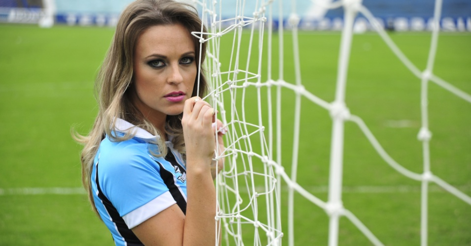 Daiane Steffens &#233; a candidata do Gr&#234;mio