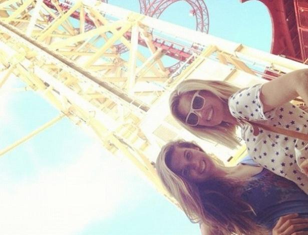 Flávia Alessandra postou foto com a filha Giulia em seu Instagram (18/7/12)