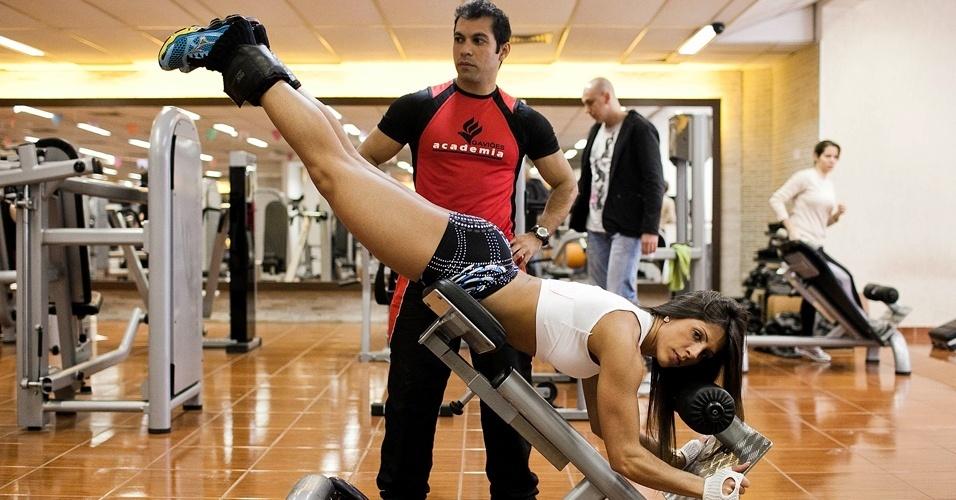 Garota Fitness São Paulo 2012 - Nathalia Santoro