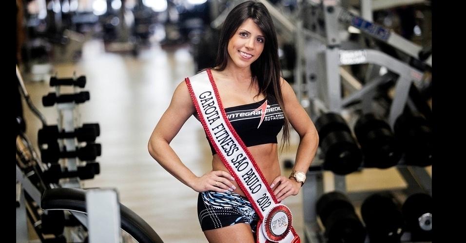 Garota Fitness São Paulo 2012 - Nathalia Santoro abre album