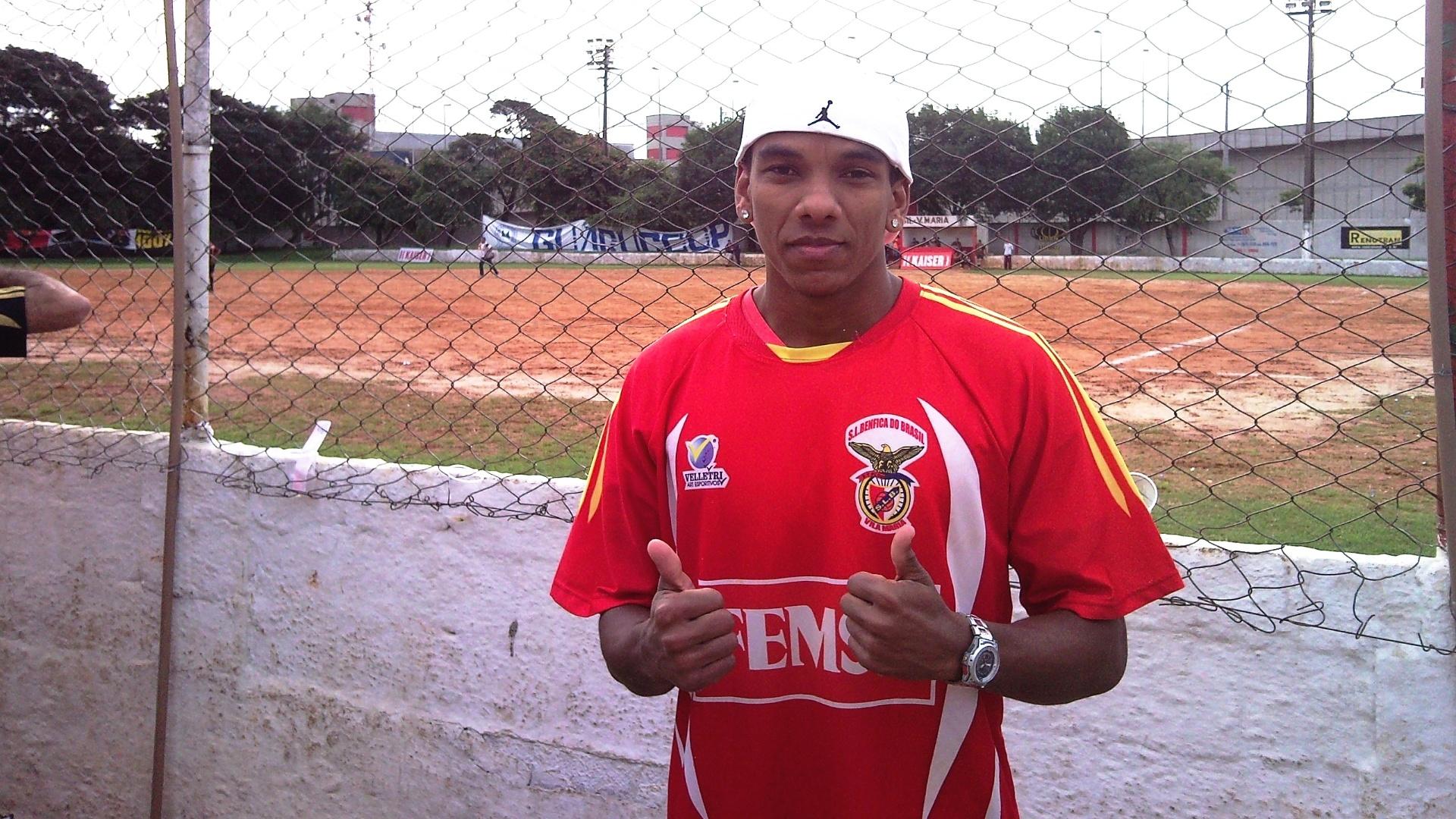Leandro, do Benfica da Vila Maria