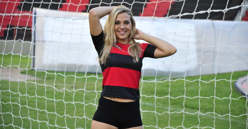 Marianna Rosas &#233;  Bela da Torcida do Sport