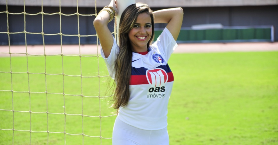 Talita Rocha &#233; a candidata do Bahia