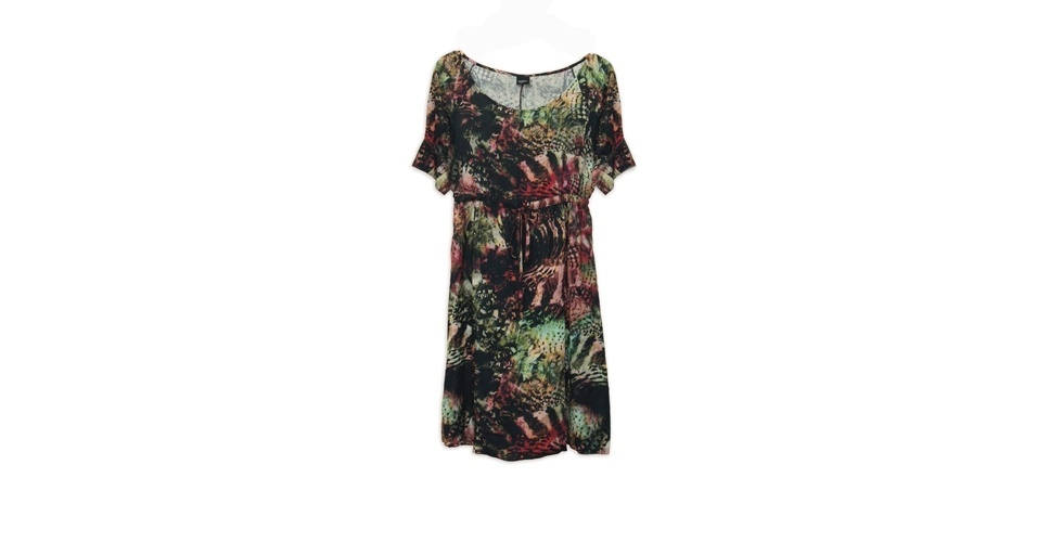 Vestidos fresquinhos estampados são sempre boas opções para o verão. Vestido; R$ 339 por R$ 199, da Enjoy (SAC: 0800 0236 569). A liquidação da marca vai até o final de julho e os descontos chegam a 60%. Preço pesquisado em julho de 2012 e sujeito a alterações