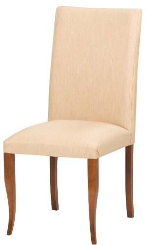 A cadeira Verona, sem braço, tem estrutura em madeira e encosto curvado, revestido em tecido. O item de R$ 1.089 por R$ 445 na Sierra SP (www.sierra.com.br) até o dia 31 de julho de 2012