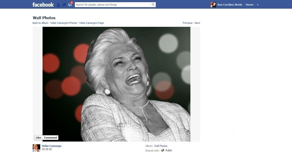 do perfil, algumas imagens parodiando o final de ''Avenida Brasil ...