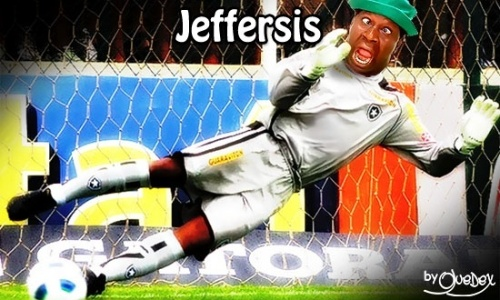 Jeffersis do Botafoguis é o goleiro da seleçãozis do Corneta FC