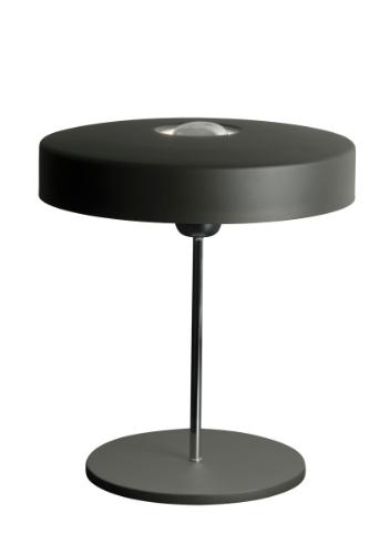 O abajur Bloom tem haste cromada que se apóia um disco rebatedor em alumínio, com pintura na cor grafite. O objeto está em liquidação na Dominici Extra Serie - loja no Shopping D&D (11 5105-8507), de R$ 577 por R$ 396 até o dia 19 de agosto de 2012