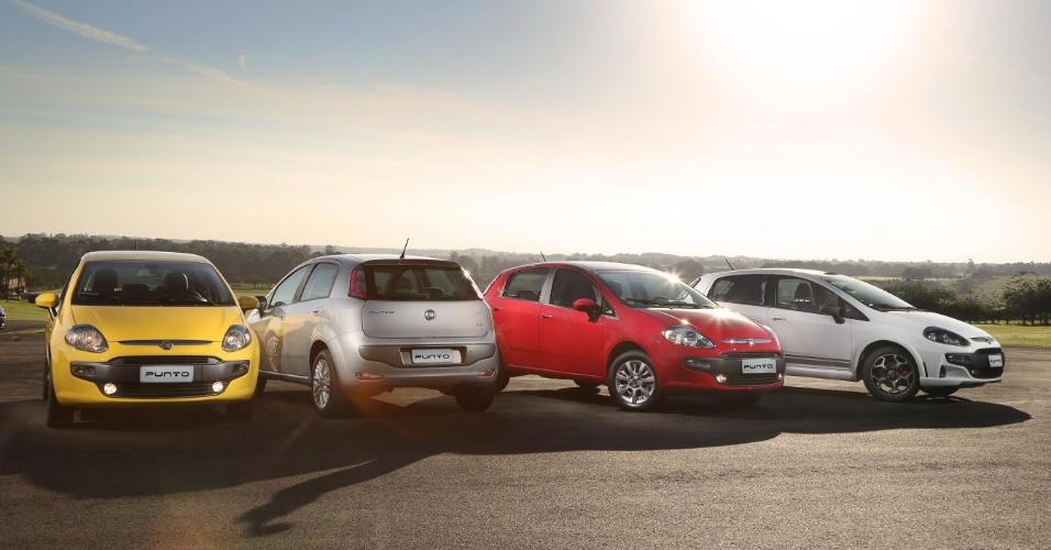 A Fiat estreia neste final de semana a versão 2013 do Punto; é a primeira reestilização do compacto em cinco anos de fabricação no Brasil