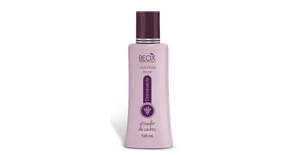 Ativador de Cachos Uva Rosa Boucle Diariamente, Beox Professional