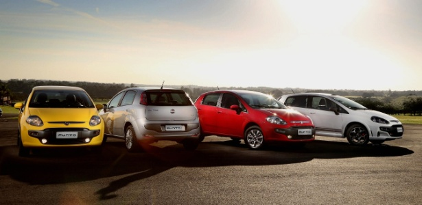 Novo Fiat Punto 2013: imagens e dados oficiais vazam poucas horas antes do lançamento oficial
