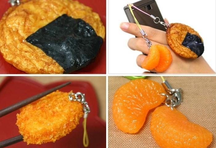 Penduricalhos para celular imitam (muito bem) comida; veja os gadgets bizarros