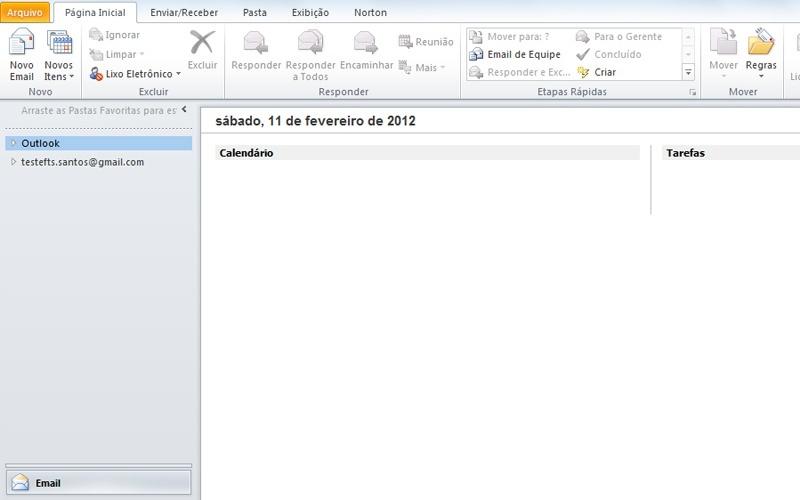 Saiba como importar mensagens para o Outlook 2010