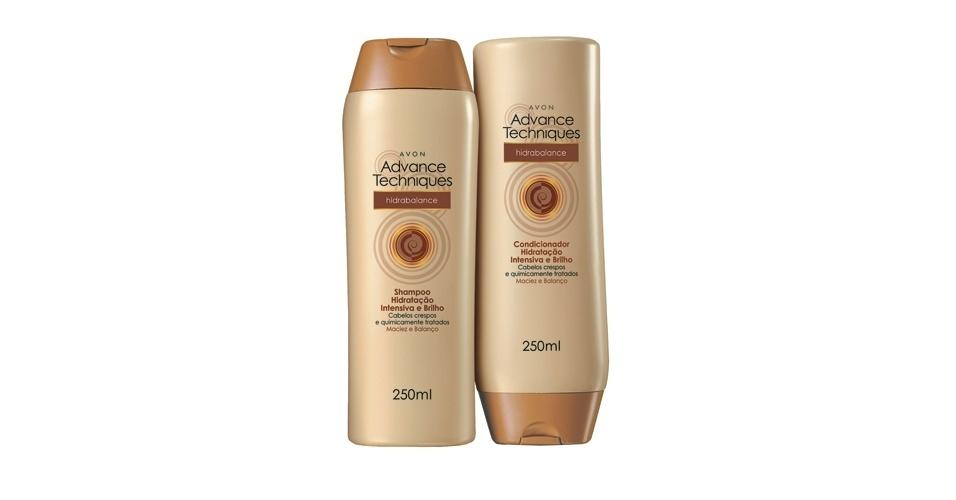 Shampoo e Condicionador Advance Techniques Hidrabalance, Avon