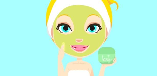 Ritual de beleza para ser feito a cada 15 dias, as máscaras faciais proporcionam a renovação da pele