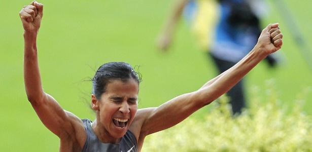 Reincidente em doping, a marroquina Mariem Selsouli pode ser banida do esporte