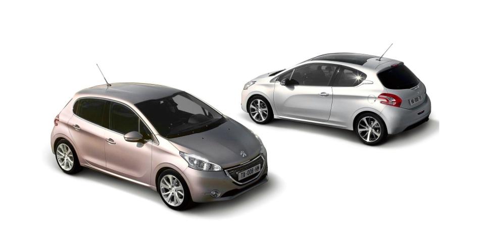 Família global de compactos, linha 208 da Peugeot será nacional; produção começa no ano que vem