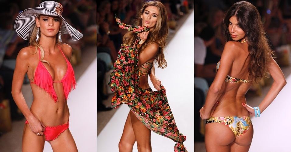 Looks de Luli Fama para o Verão 2013 na semana de moda de Miami (22/07/2012)