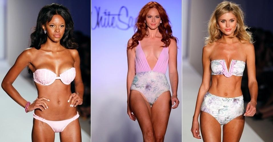 Looks de White Sands Australia para o Verão 2013 durante a semana de moda de Miami (22/07/2012)