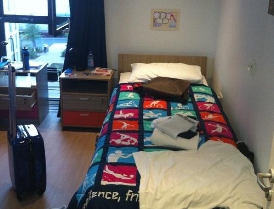 Veja o quarto do Dante em Londres ~ Volei Fotos ~ Quarto Masculino Londres