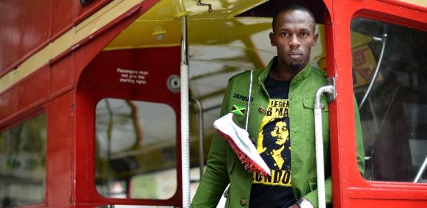 Velocista Usain Bolt é a grande estrela do atletismo nos Jogos de Londres