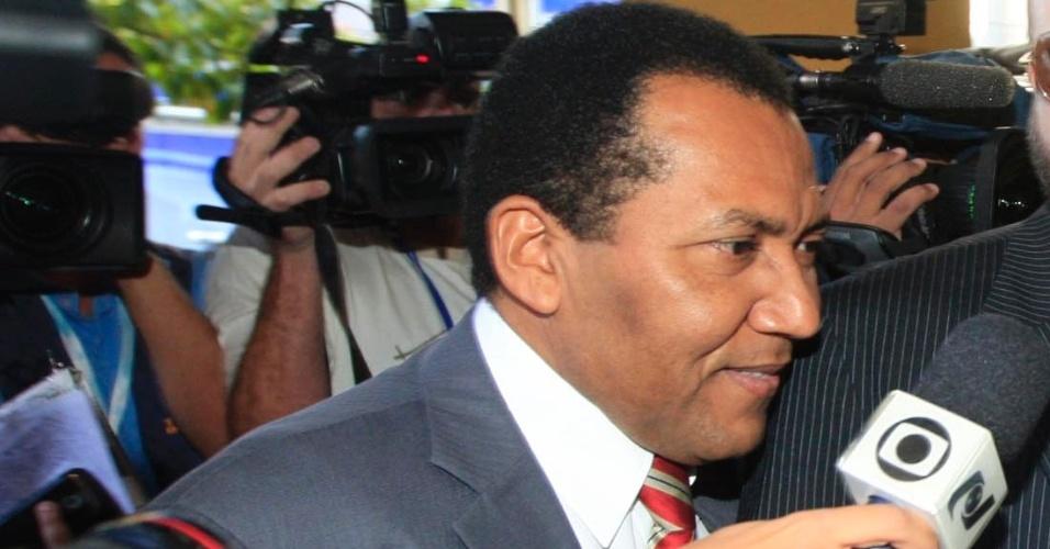 24.jul.2012 - Considerado braço direito de Cachoeira, Dadá chega nesta terça-feira (24) à Justiça Federal de Goiânia